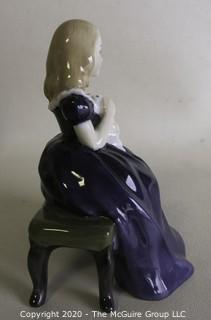 "Vintage Royal Doulton Porcelain Figurine ""Affection"". Measures approximately 5"" tall."