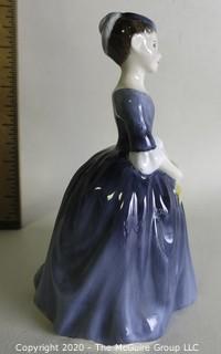 "Vintage Royal Doulton Porcelain Figurine ""Cherie"". Measures approximately 6"" tall."