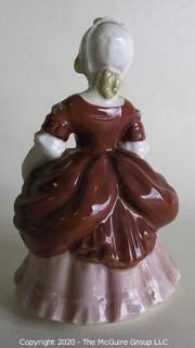 "Vintage Royal Doulton Porcelain Figurine ""Valerie"". Measures approximately 5 1/2"" tall."