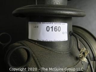 """Antique Dietz Union Driving Lamp or Light with Carrying Handle. Measures approximately 11 1/2"""" tall."""