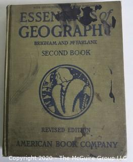 Two Vintage Geography Books.  Dated 1915 & 1915.