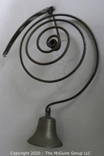 Vintage Spring Shop Door Bell.