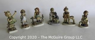 Group of Six Hummel Figurines.