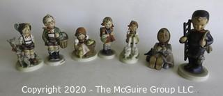 Group of Seven Hummel Figurines.