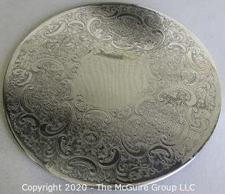 Two Silver Plated Trays and Two Silver Plated Trivets.
