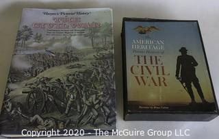 Several Books About The Civil War.
