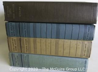 Vintage Four Volume Set of Books by Thomas Wolfe, Dial Press.