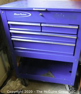 Blue Point Tool Cabinet or Chest on Wheels.