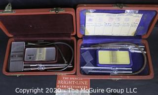 Two Vintage Hemocytometer Kits in Original Boxes.