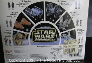 New in Box Star Wars Action Fleet Set 1995 - A-Wing Starfighter.