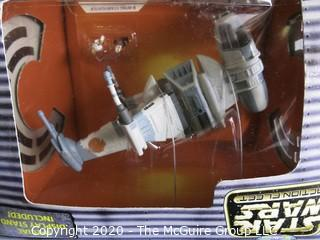 New in Box Star Wars Action Fleet Set 1995 - B-Wing Starfighter.