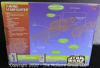 New in Box Star Wars Action Fleet Set 1995 - Y-Wing Starfighter.