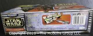 New in Box Star Wars Mirco Machines Darth Vader's Lightsaber Death Star Trench By Galoob