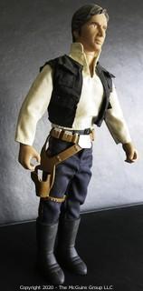 "Vintage Star Wars Han Solo 12"" inch Figure Doll Complete"