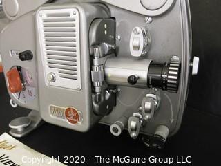 Swiss Alpex Viewette 8mm Film Movie Projector; in Original Case.
