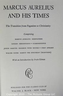 Ten Volume Set of Classic Club Books.