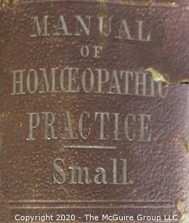 Four Vintage Medical Encyclopedias and Manuals.