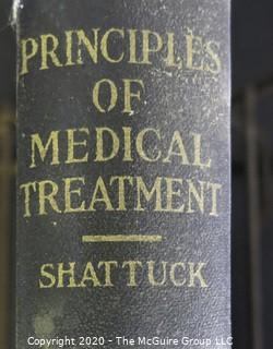 Three Vintage Hardcover Medical Text Books.