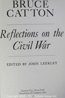 Four Hard Cover Civil War Themed Books.