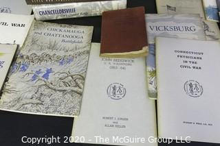 Large Collection of Books and Pamphlets on the Civil War.
