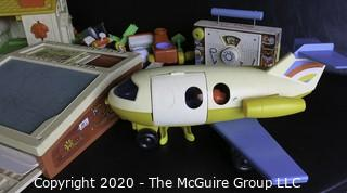Group of Vintage Fisher Price Toys. Includes Little People Playsets.