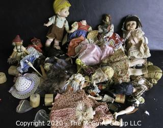 Collection of Vintage Dolls.