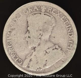 1918 Canadian Quarter
