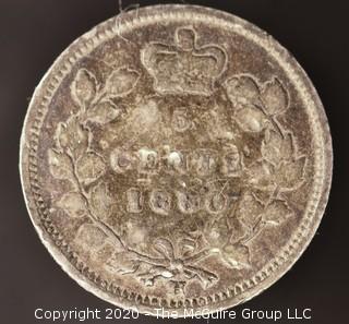 1880-H Canadian Nickel