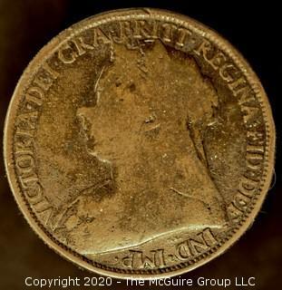 British Coin; 1893-1901; Queen Victoria