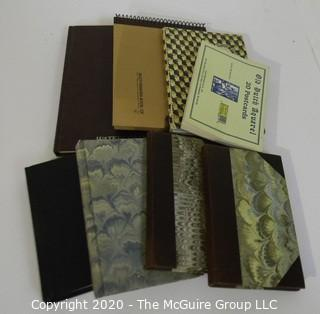 Group of Artist Sketch Books and Water Color Pads.  Unused.