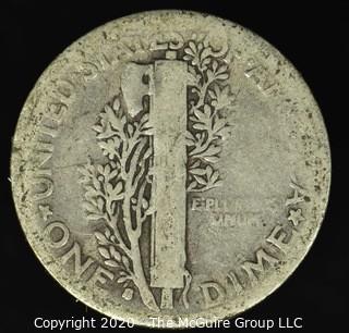 1916-S Mercury Dime