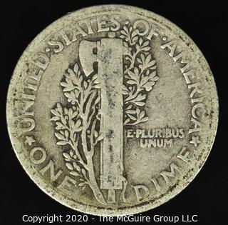 1917 Mercury Dime