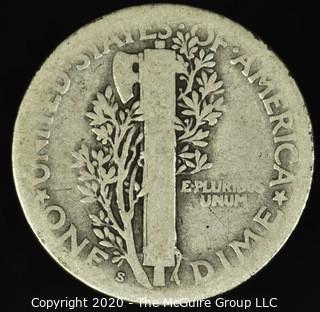 1920-S Mercury Dime