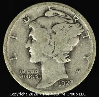 1923 Mercury Dime