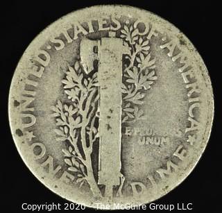 1924 Mercury Dime