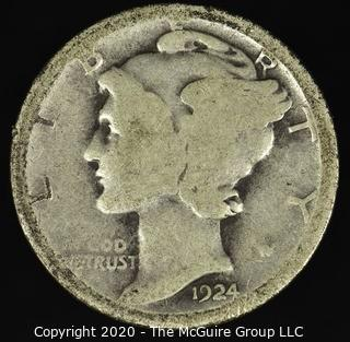 1924-D Mercury Dime