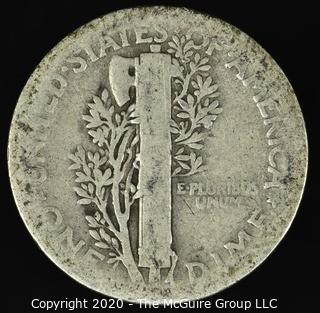 1925 Mercury Dime