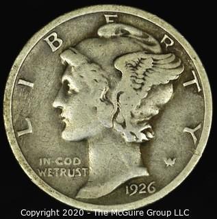 1926-D Mercury Dime