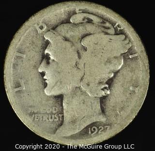 1927-D Mercury Dime