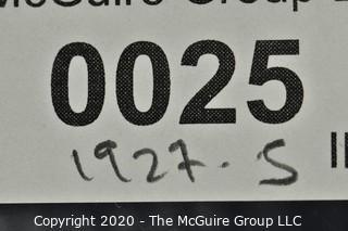 1927-S Mercury Dime