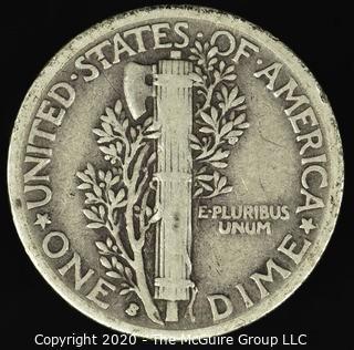 1936-S Mercury Dime