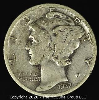 1937-S Mercury Dime