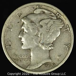 1939-D Mercury Dime