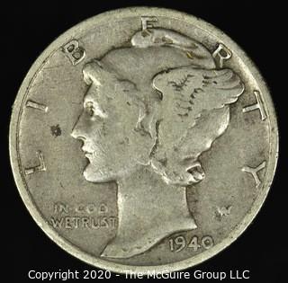 1940-D Mercury Dime