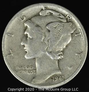 1941-D Mercury Dime