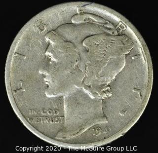 1941-S Mercury Dime