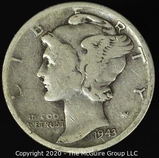 1943-S Mercury Dime