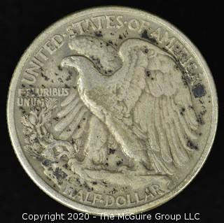 1933 Walking Liberty Half Dollar