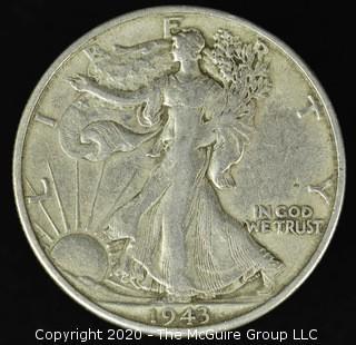 1943 Walking Liberty Half Dollar