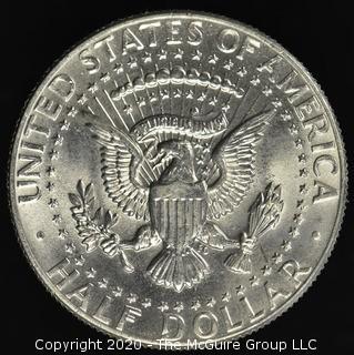 1986-D Kennedy Half Dollar